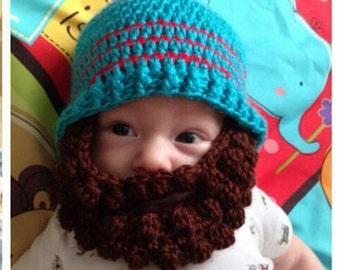 Bearded Baby Beanie