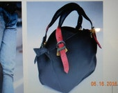 Leather Shoulder Bag with Clutch Set order for Yashere'e