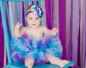 "READY TO SHIP Purple streamer backdrop  ""Audrey"" purple photo prop backdrop first birthday photo prop cake smash fabric backdrop birthday"