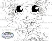 INSTANT DOWMLOAD Digital Digi Stamps Big Eye Big Head Dolls Digi Img141 By Sherri Baldy