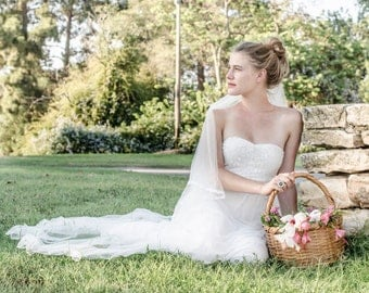 Ivory Wedding Dress Lace Wedding Dress Hippie Wedding Dress Bohemian Wedding Dress Paulastudio Wedding Dress Simple Wedding Dress