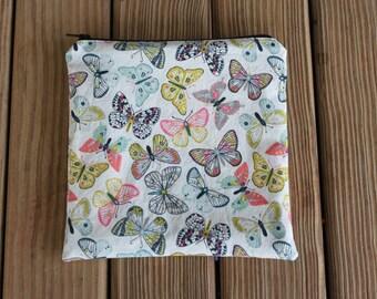 Reusable Sandwich Bag, Butterfly - ZIPPER Sandwich Bag