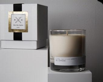 BLONDE // Soy Candle sea salt & caramel scented