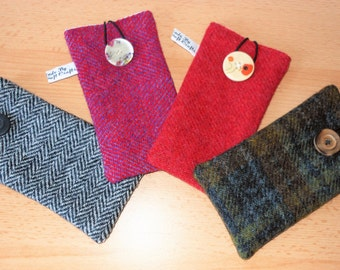 Harris Tweed Mobile/Cell Phone Cases