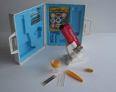 Vintage Fisher Price Play Micro Explorer Set #6606-Complete