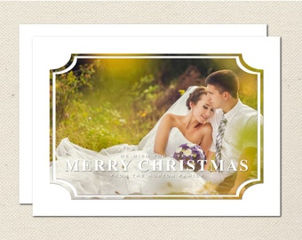 Holiday Photography Template - 0007 - Photoshop Template