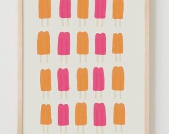 Fine Art Print.  Popsicles.  September 30, 2011.