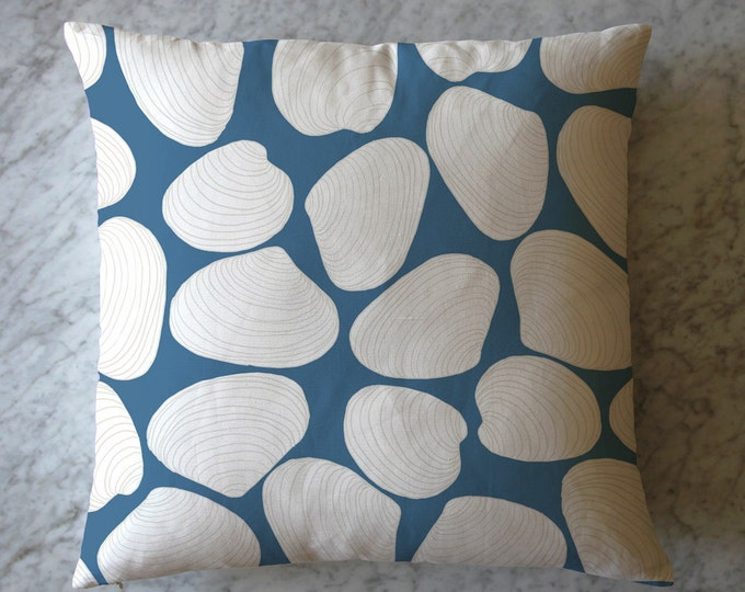 Pillow with Shells.  August 8, 2013