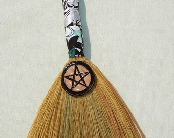 Hand Besom for Wiccan and Pagan Rituals - 14 inches