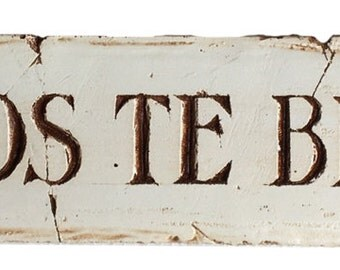 Spanish God Bless You wall plaque