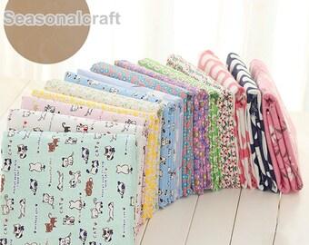 Cotton Linen Fabric, Colorful Collection Cotton Linen Fabric 1/2 Yard (QT794)