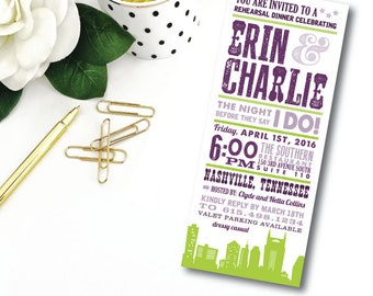 Nashville Collection Invitations