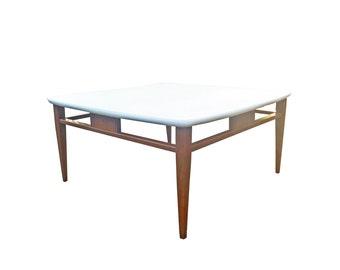 Mid Century Square Coffee Table