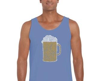 Men's Tank Top - Beer