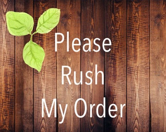 Rush My Sign Order