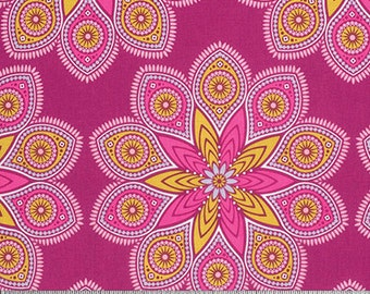 Wander by Joel Dewberry for Free Spirit - Starlight - Rosetta - 1/2 Yard Cotton Quilt Fabric 916