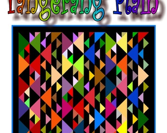 NEW - TANGERANG -  Quilt-Addicts Patchwork Quilt Pattern