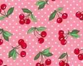 Cherry Dot in Bloom - Michael Miller Fabrics - 1 Yard