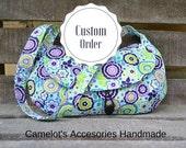 Handmade Messenger Bag - CUSTOM ORDER for Stacey