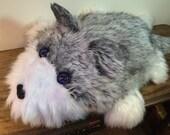 Timber the wolf, fursuit stuffed animal