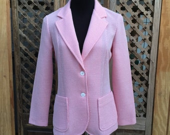 Pink Polyester Jacket
