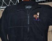 Micro-fleece Jacket Greyhound Embroidery