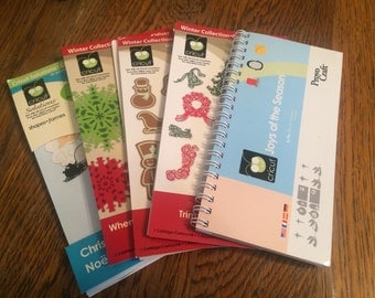 Christmas Cricut Cartridges - Joy of the Season, Trim the Tree, Gingerbread and more - Used Cartridges