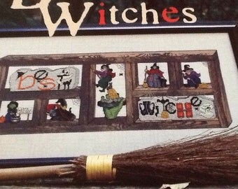 BEST WITCHES - Cross Stitch Pattern Only- HALLOWEEN