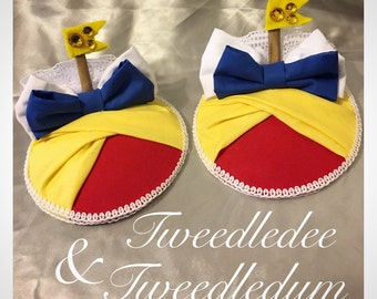 One TweedleDee or TweedleDum Fascinator