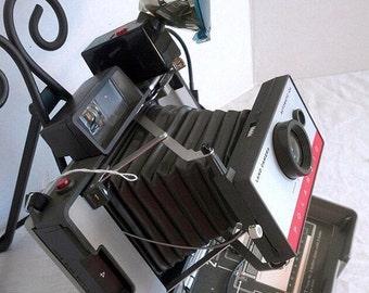 CIJ Sale Vintage Polaroid Automatic 104  Land Camera 1965 Photography Collectibles
