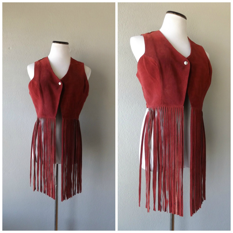 70 S Fashion Fringe Vest