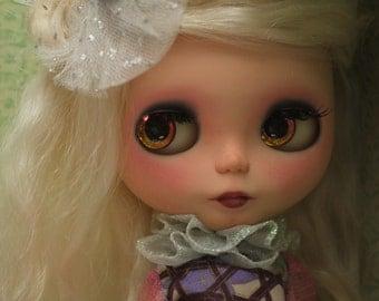 Becca, OOAK Custom Takara Birdie Blue SBL Blythe Art Doll by Elle Woods Customs