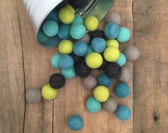 Blue Bayou Felt Balls