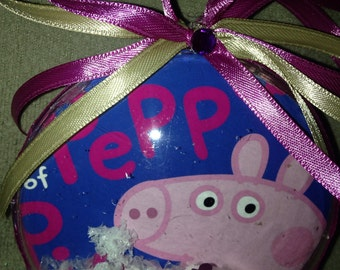 Peppa pig ornament