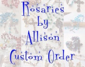 Custom order for Alyce