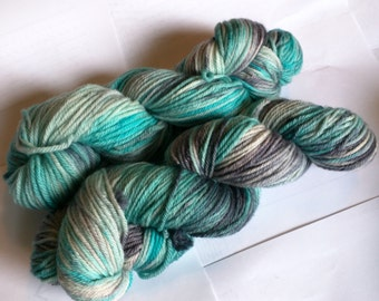 Teal I see you again on Worsted SW Merino