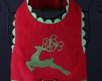 CHRISTMAS:  Reindeer Dog Harness