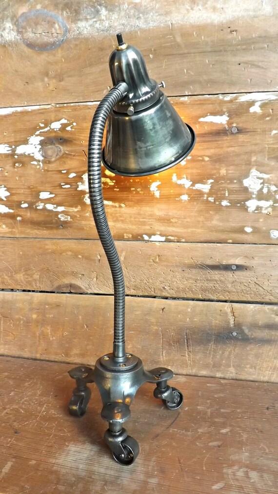 Industrial Steampunk Gooseneck Lamp Desk Lamp Accent Light