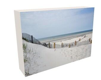 Cape Cod Beach Photography Canvas, Mayflower Beach, Zen, Beach Scene, Wall Art, Canvas Print, Wall Decor, Gift for wife, husband
