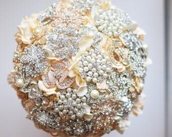 Petal Brooch Bouquet