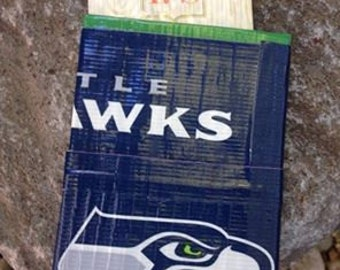 Seahawks Duct Tape Card & Money Holder