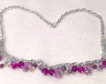 Children Necklace purple