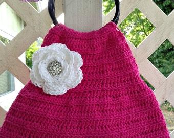 Pretty in Pink Handbag Crochet Pattern