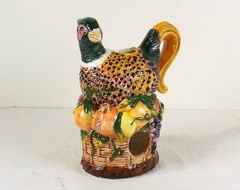 Ceramic Pheasant Fragrance Warmer