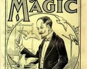 Collection of Vintage Magic Books Tricks Cards Cardistry 1940s 30s Wehman Hermann's Bingham Original