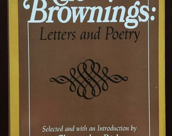 Book, The Brownings: Letters and Poetry