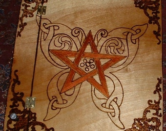 Butterfly Pentacle Book of Shadows Handmade