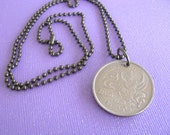 Thailand Coin Necklace, Thailand, Coin Necklace