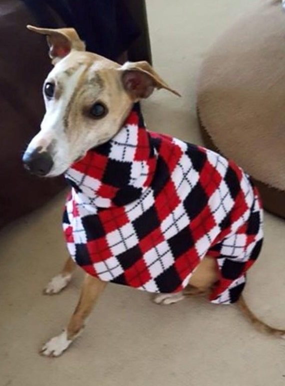 Italian greyhound clothing fleece coats
