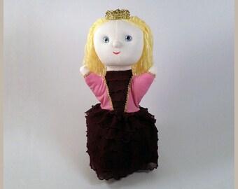 Anastasia princess - hand puppet
